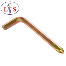 Factory Price Top Quality Allen Wrench with Color Zinc Plated
